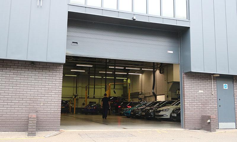 Industrial Door at Premier 1 - PGE