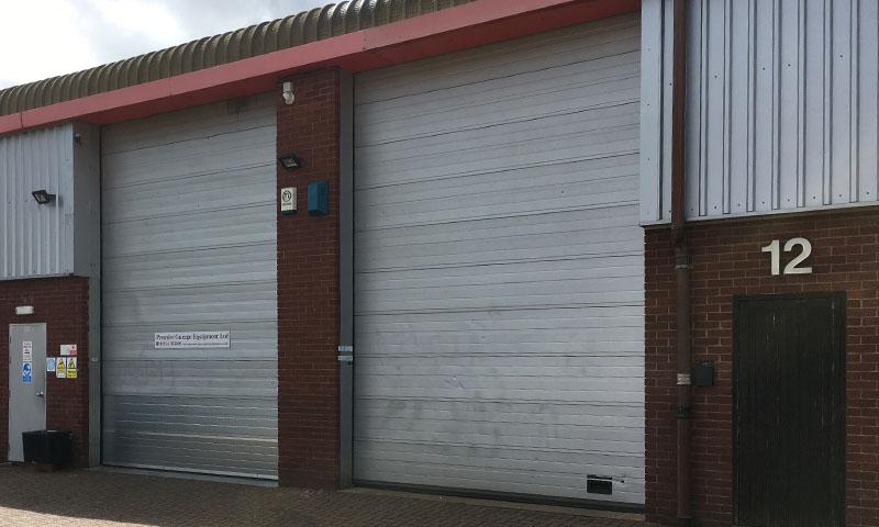 Industrial Door at Premier 3 - PGE